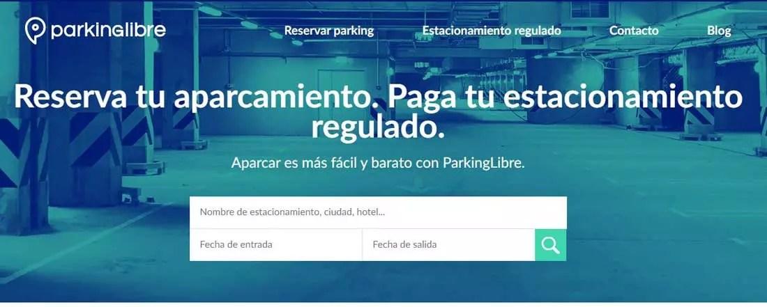 Parkinglibre - Mejores webs para buscar aparcamientos