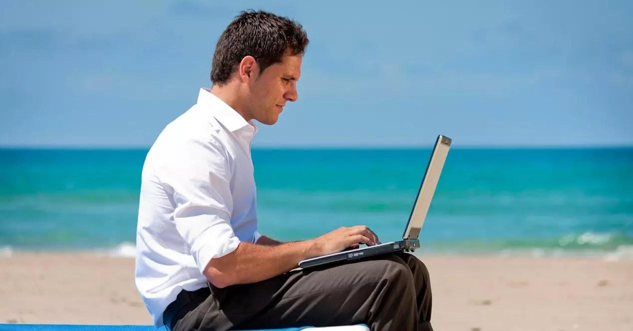 Trabajar vacaciones