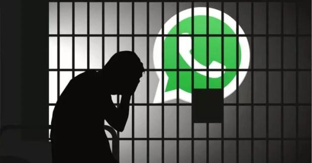 whatsapp carcel noticias falsas