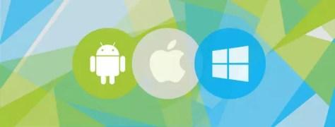 Windows Android iOS