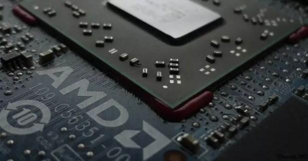 amd chip procesador grafica