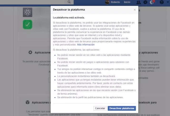 facebook comparta tus datos