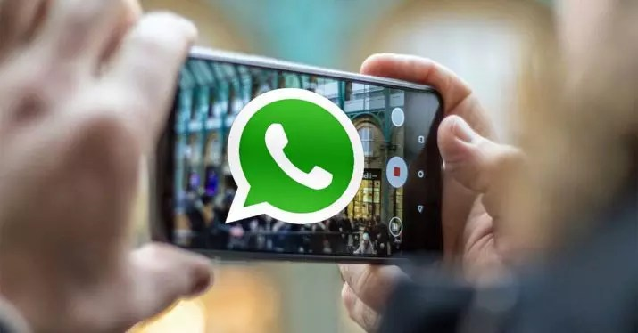 whatsapp grabar video