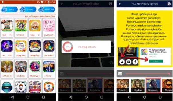 Estas 29 apps han robado las fotos de millones de usuarios Android