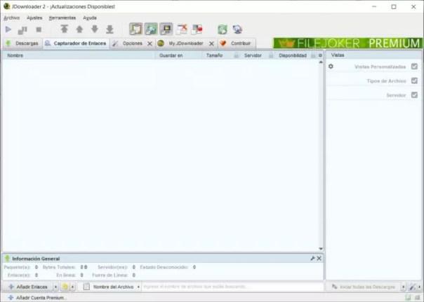 Cómo descargar archivos desde JDownloader y cómo gestionar todas tus descargas