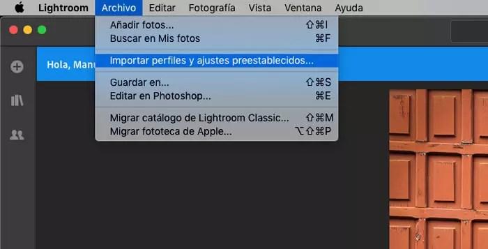 Cómo instalar presets en Lightroom