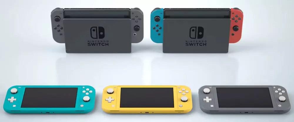 nintendo switch lite vs mini