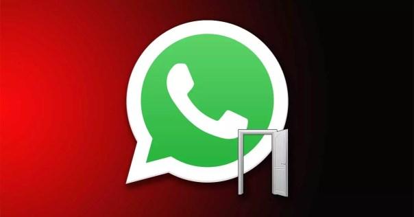 whatsapp puerta trasera
