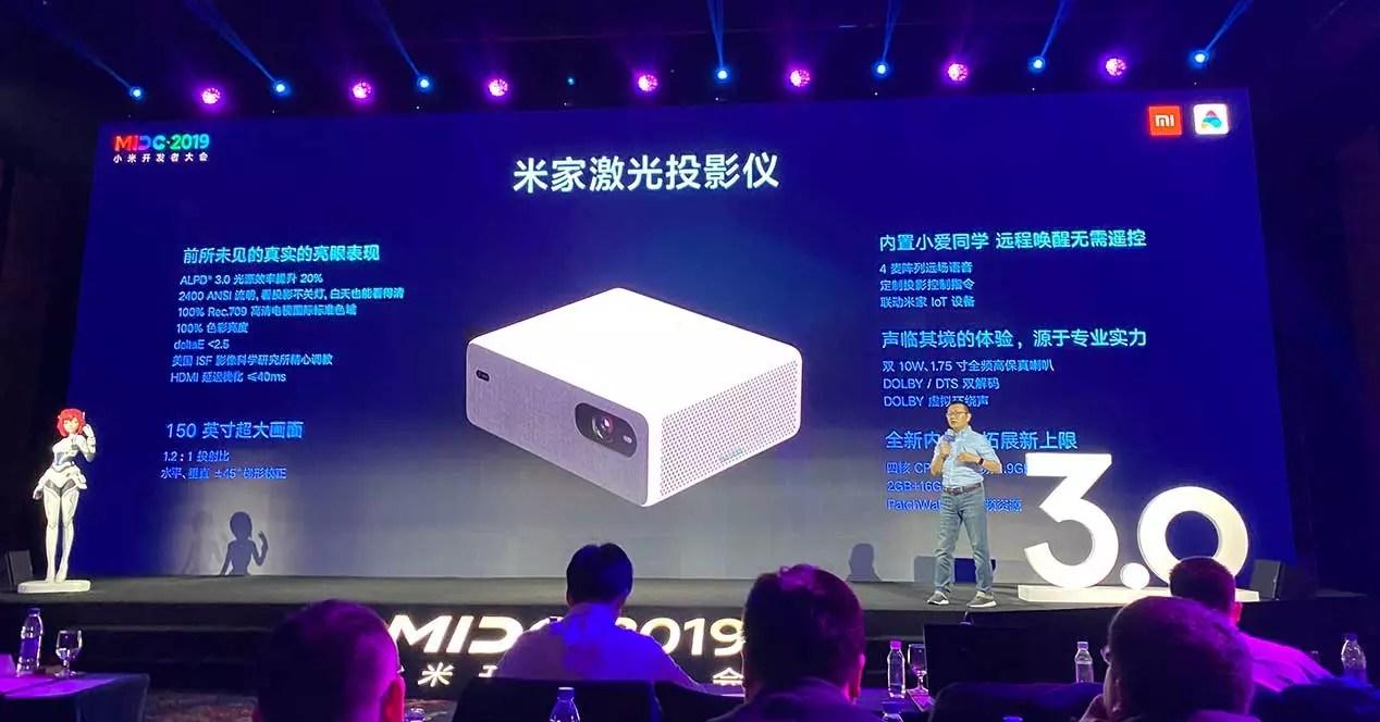 xiaomi mijia laser projector 2