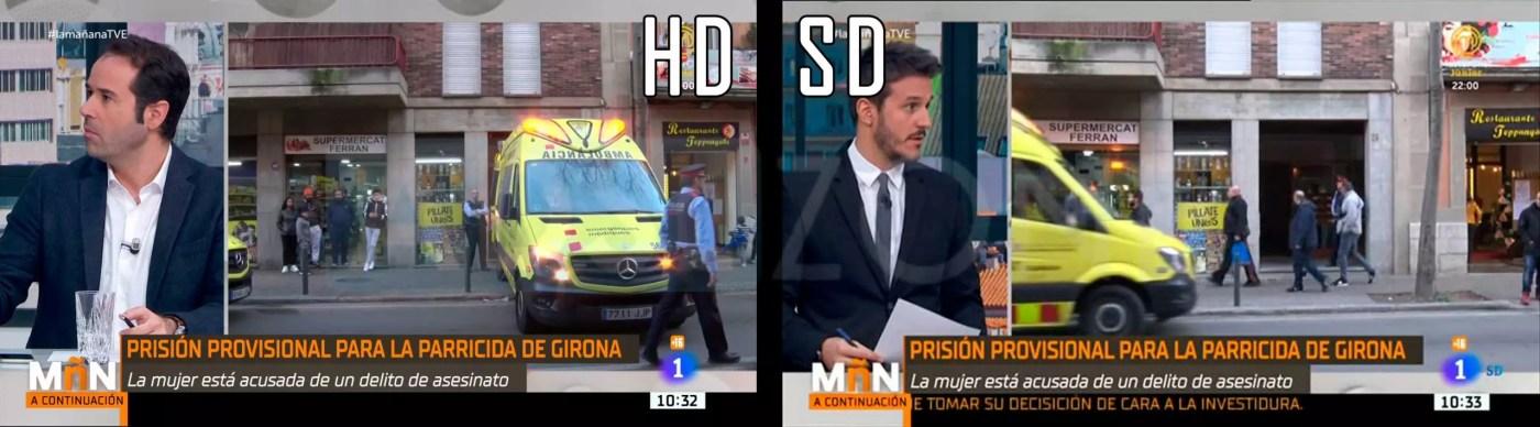 La 1 HD La 1 SD