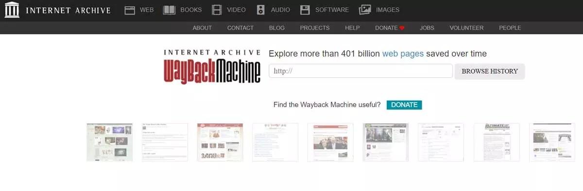Waybach-Machine