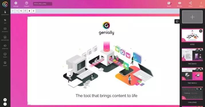 Generally - Crear presentaciones