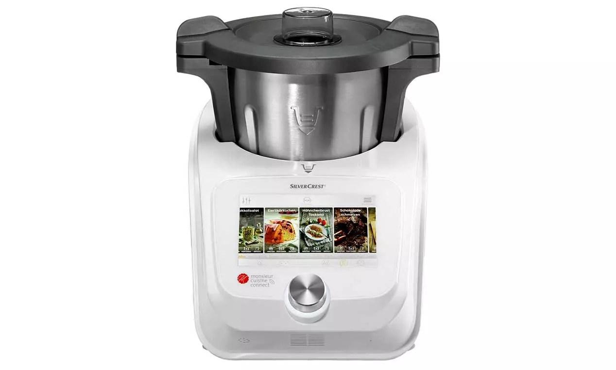 robots de cocina con WiFi - Monsieur Cuisine Connect