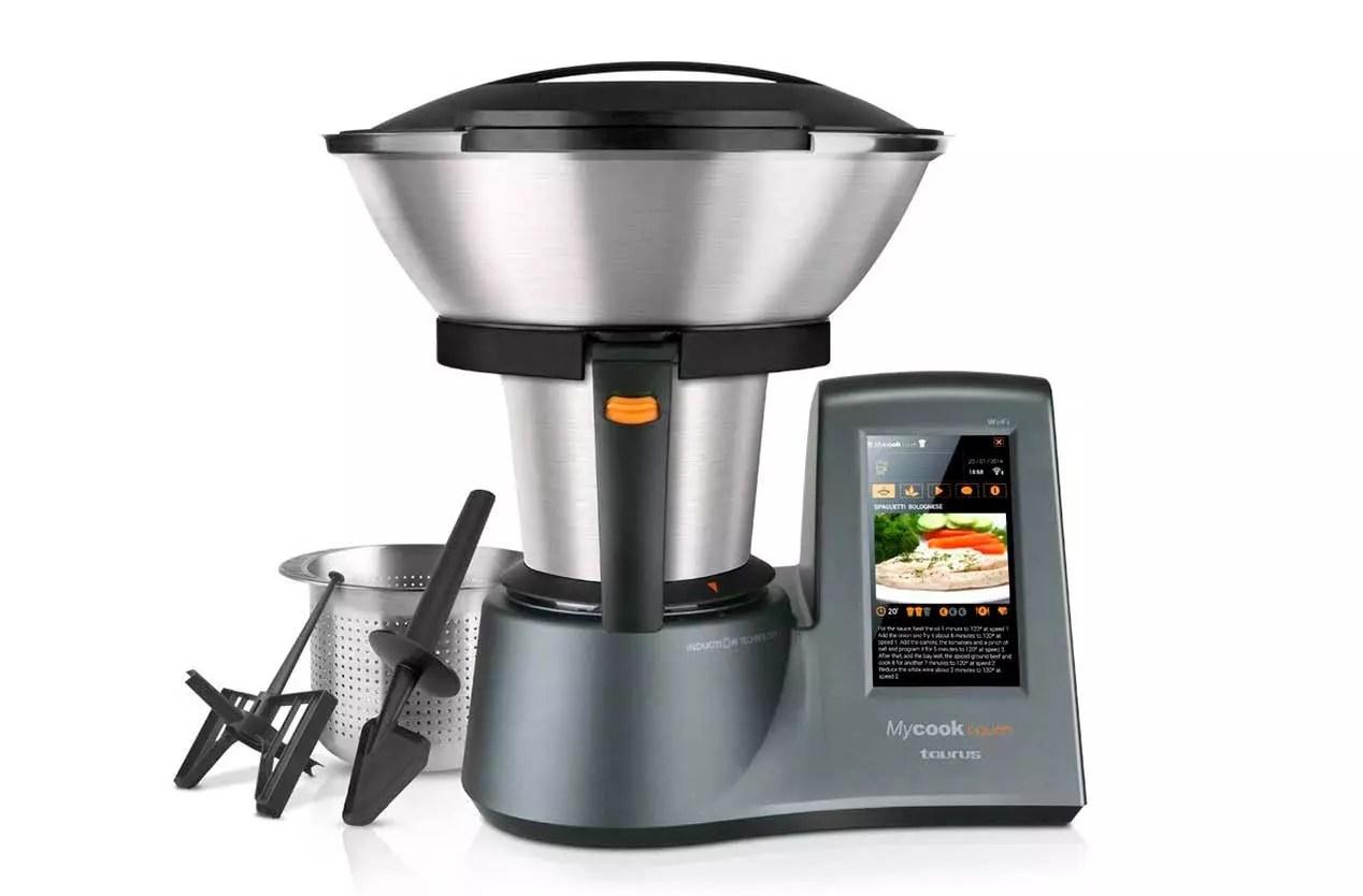 robots de cocina con WiFi - Taurus MyCook Touch