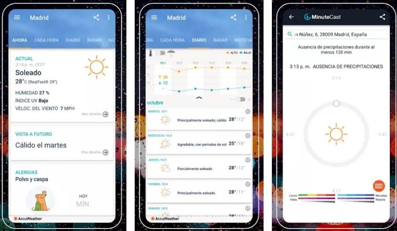 accuweather apps para viajar