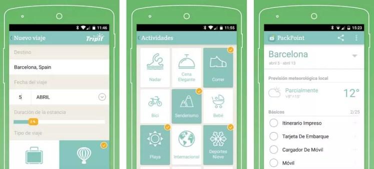 packpoint apps para viajar