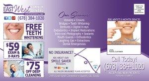 post card marketing dentist