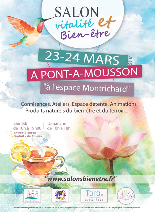 Salon vitalité et bien-être à Pont-à-Mousson 2019