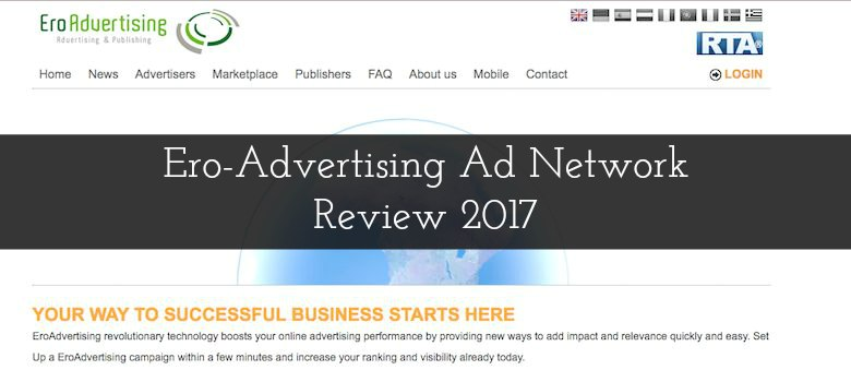 Ero-Advertising Ad Network Review 2018