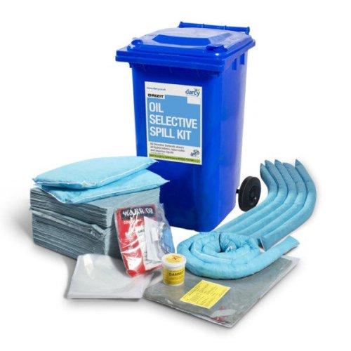 Τροχήλατος Κάδος Διαρροών Spill Kit 240