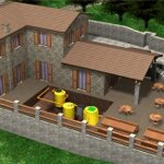 Sewage Plant for 30 - 80 E.I.