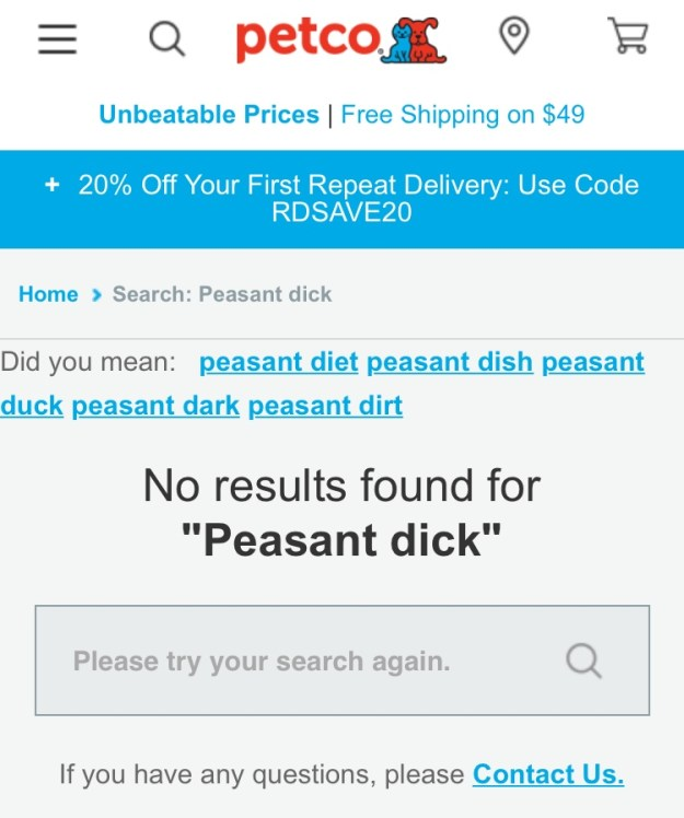 peasant dick