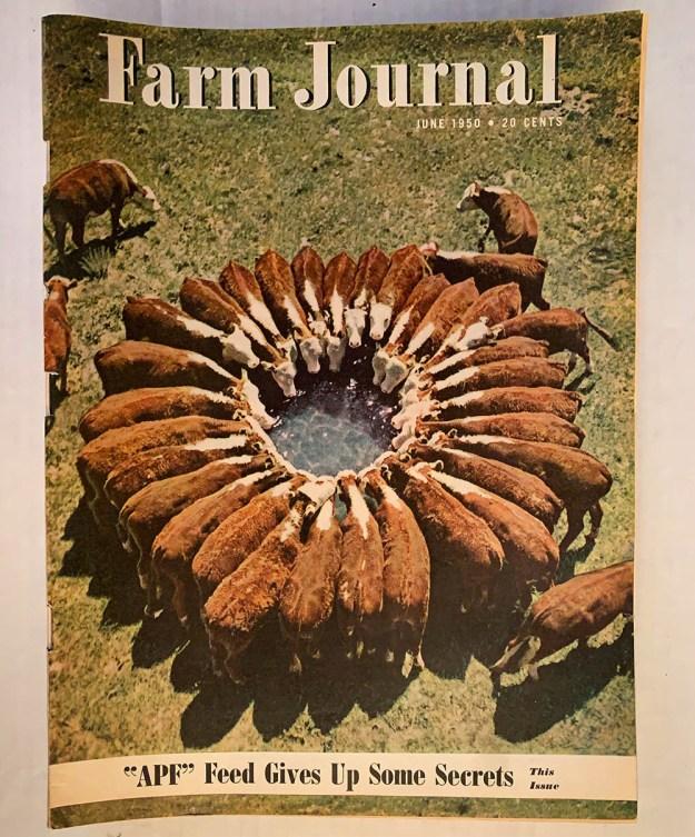 Cover of Farm Journal magazine, June 1950