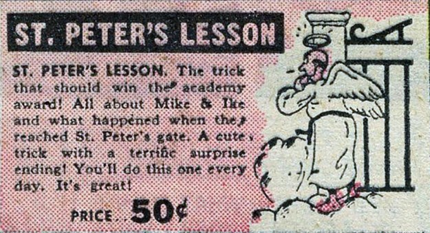 St. Peter's Lesson