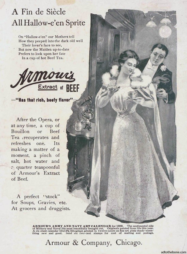 1898 ad for Armour's Extract of Beef