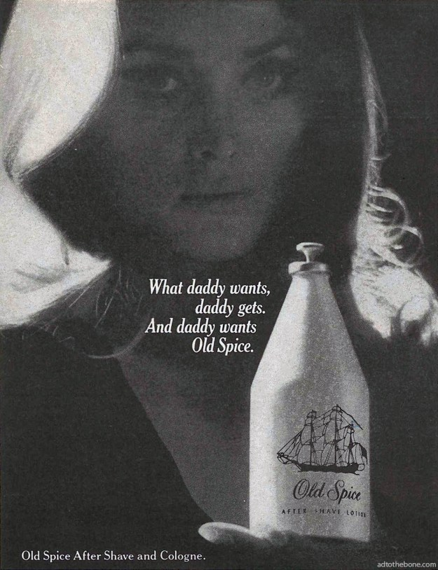 Old Spice After Shave and Cologne ad from 1969.
