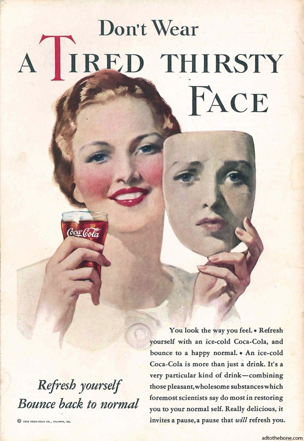 1933 Coca-Cola magazine ad