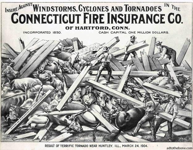 1904 Connecticut Fire Insurance Co. advertisement
