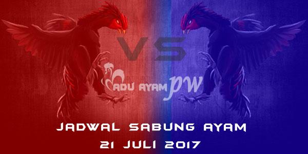 jadwal sabung ayam 21 juli 2017