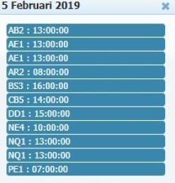 Jadwal Sabung Ayam 05 Febuary 2019