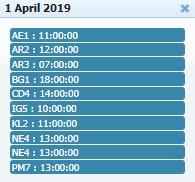 Adu Ayam PW - Jadwal Sabung Ayam 01 April 2019