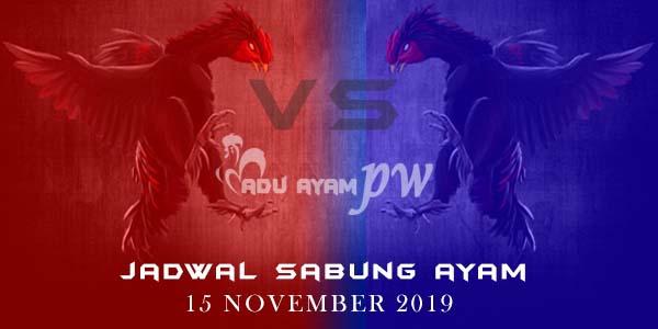 Jadwal Resmi Sabung Ayam Live Filipina 15 November 2019