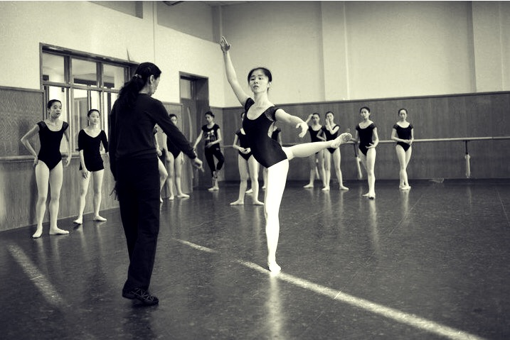 A good teacher's ballet eyes are extremely sharp