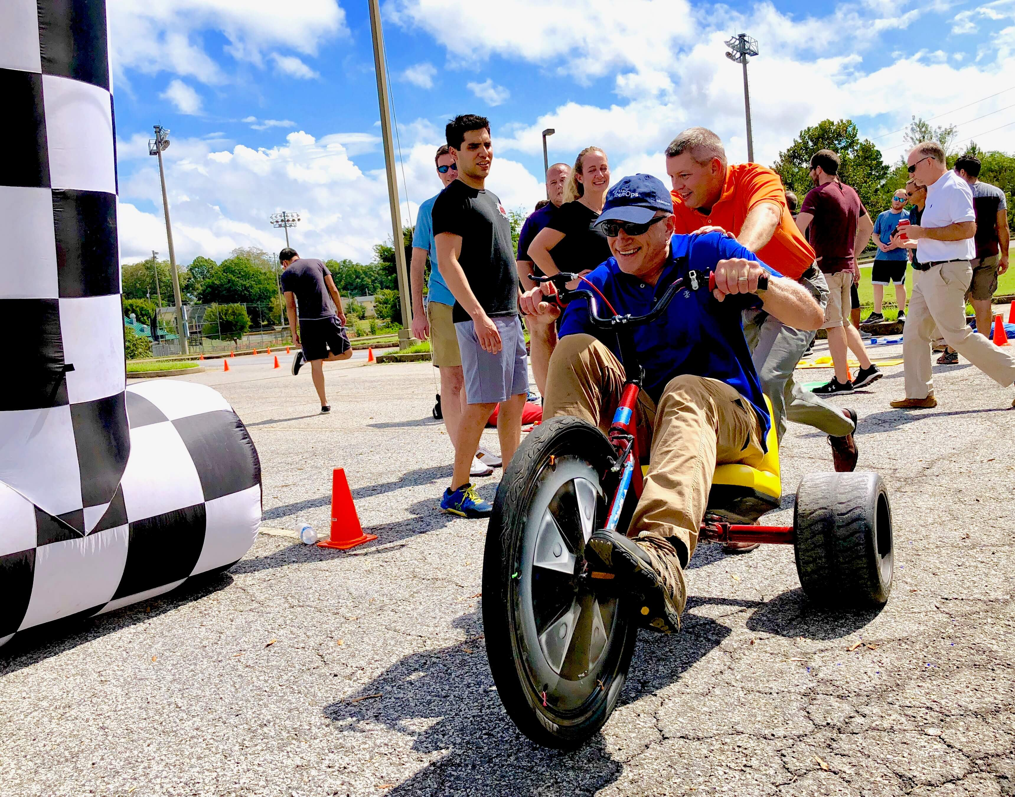 All ages are welcome , our team building activities are perfect for any age 8 to 80