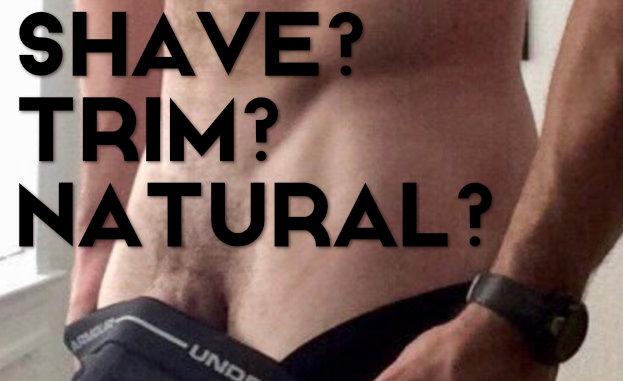 male porn jobs - trim pubic hair or shave it?