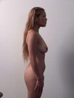 Female - profile nude photo