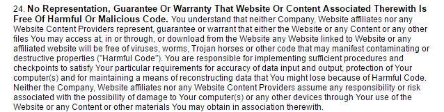 EroticAds.com no anti-malware