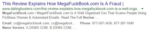 Mega FUckbook bad online review 3