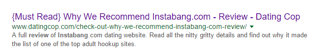 Instabang good review