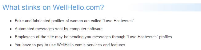 WellHello.com no reputation