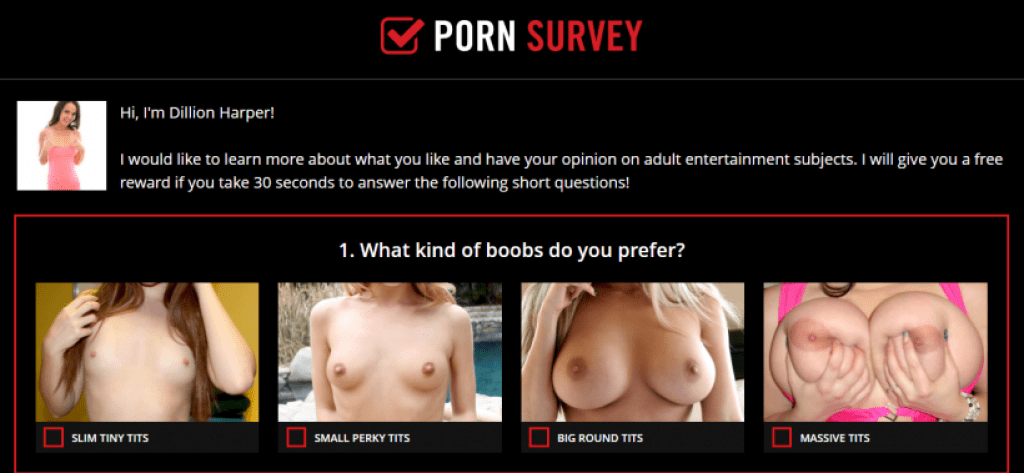 Soical Sex false rewards porn survey