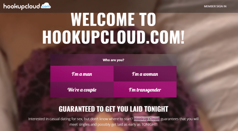 Hookup Cloud screencap