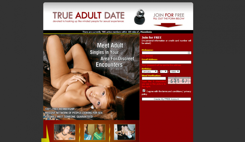TrueAdultDate.com screencap