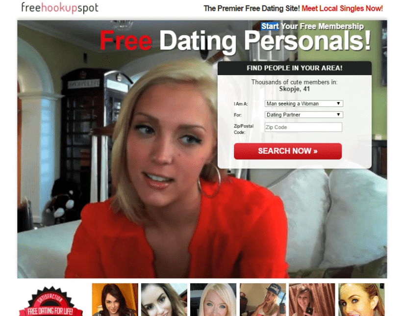 FreeHookupSpot.com screencap