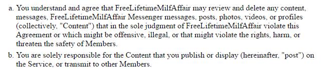 Freelifetime milfaffair content control
