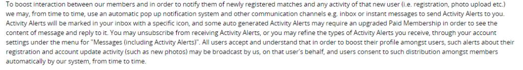 I Want Blacks alerts